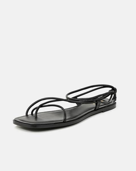 Čierne sandále Aldo