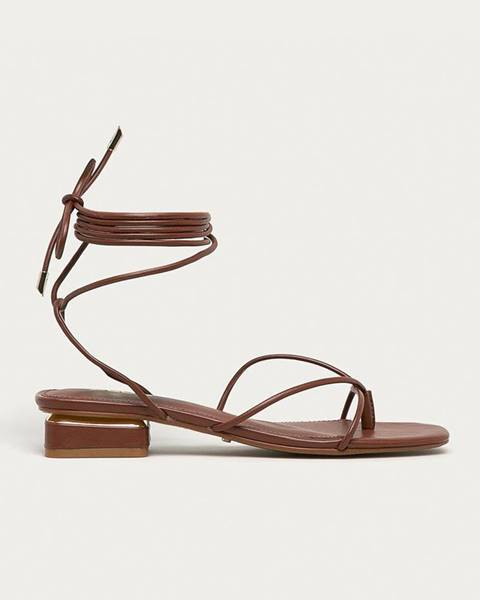 Tmavohnedé topánky Aldo