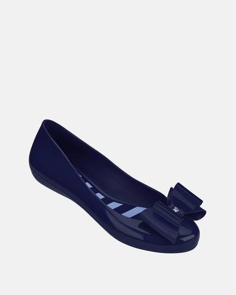 Modré balerínky Zaxy