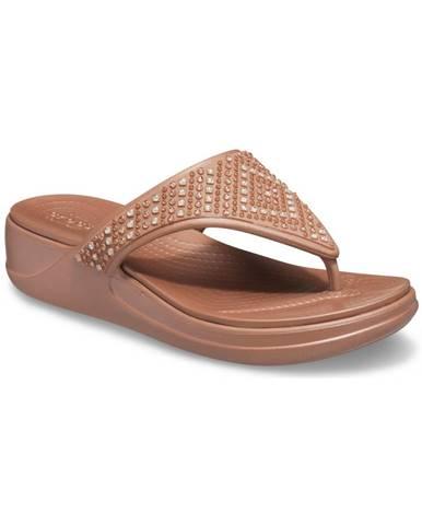 Hnedé papuče Crocs