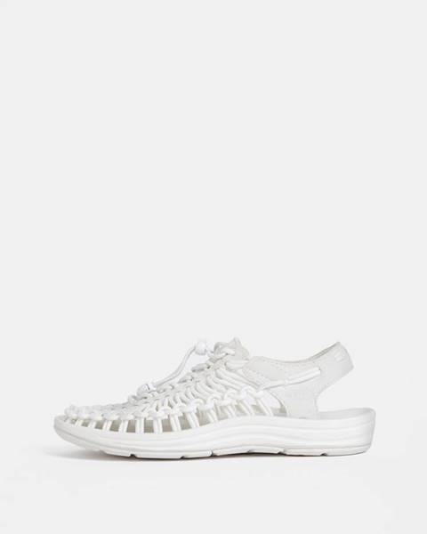 Biele sandále Keen