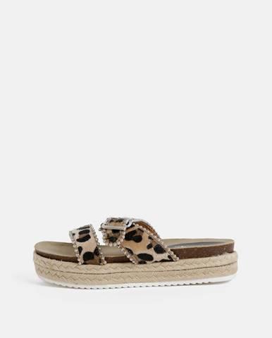 Béžové papuče hailys