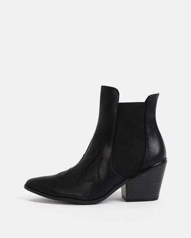 Čierne topánky Vero Moda