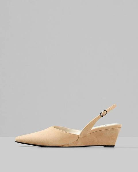 Béžové topánky Vagabond