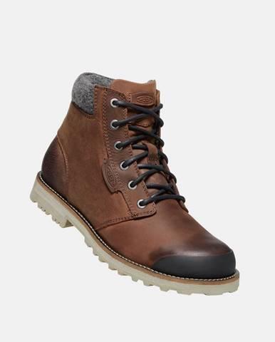 Hnedá zimná obuv Keen