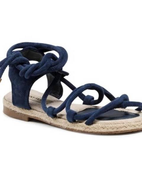 Tmavomodré sandále Jenny Fairy