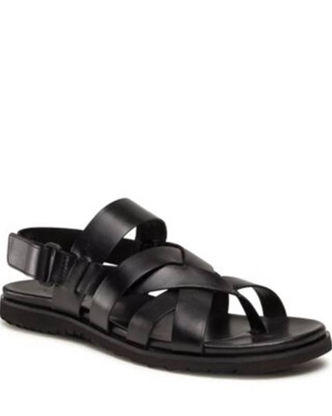 Čierne sandále Gino Rossi