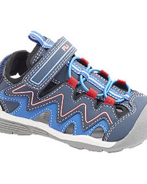 Modré sandále Fila