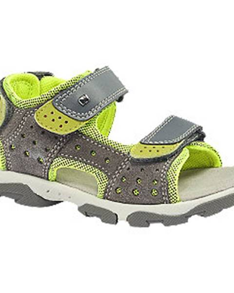 Sivé sandále Elefanten