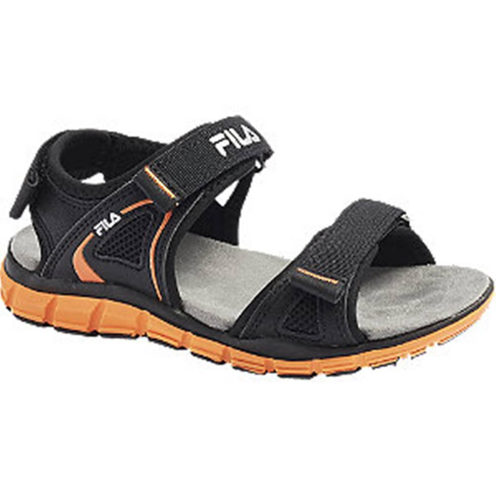 Fila Čierne sandále Fila