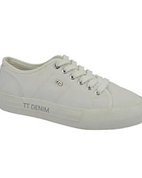 Biele tenisky Tom Tailor