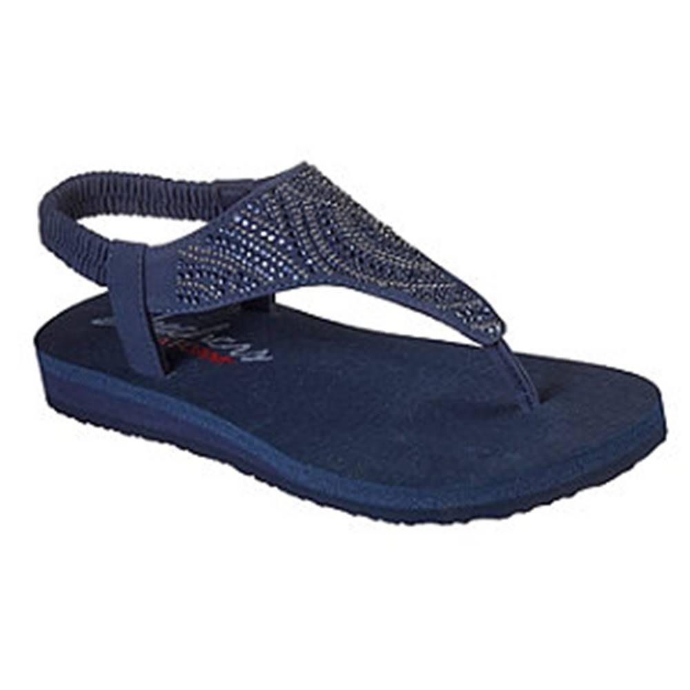 Skechers Tmavomodré sandále Skechers