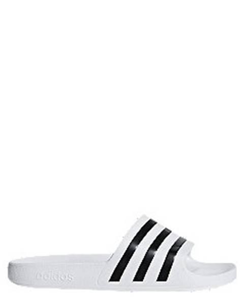 Čiernobiele sandále adidas