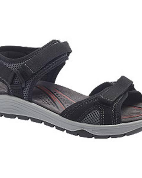Čierne sandále Easy Street