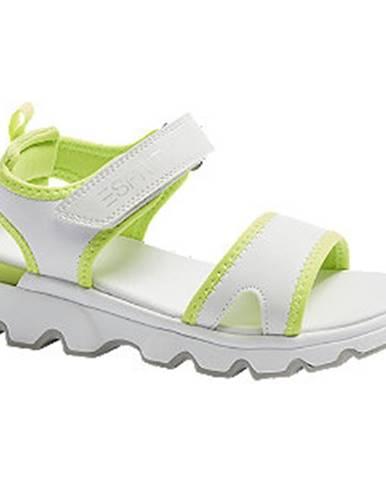 Biele sandále Esprit