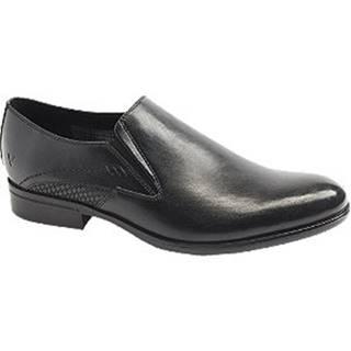 Čierna slip-on spoločenská obuv Venice