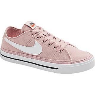 Ružové plátenné tenisky Nike Court Legacy
