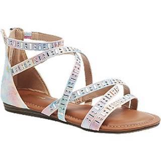 Viacfarebné sandále Graceland
