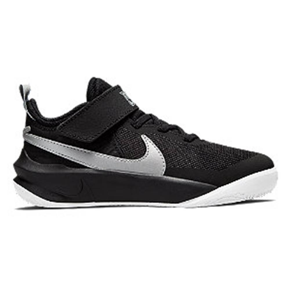 Nike Čierne tenisky na suchý zips Nike Team Hustle