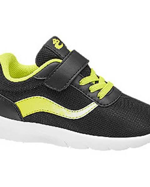 Čierne tenisky Bobbi-Shoes