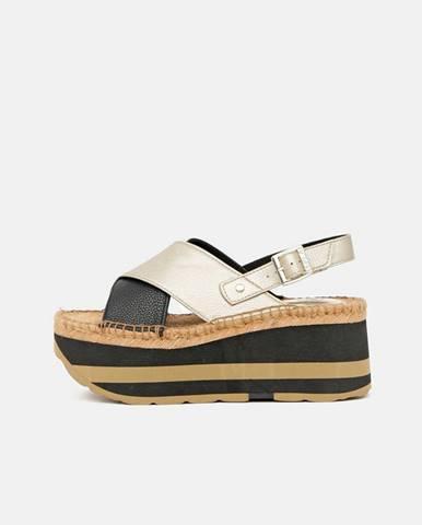 Zlaté sandále Replay