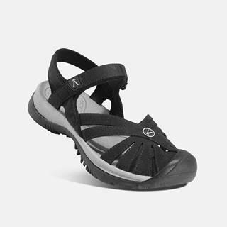Čierne dámske sandále Keen