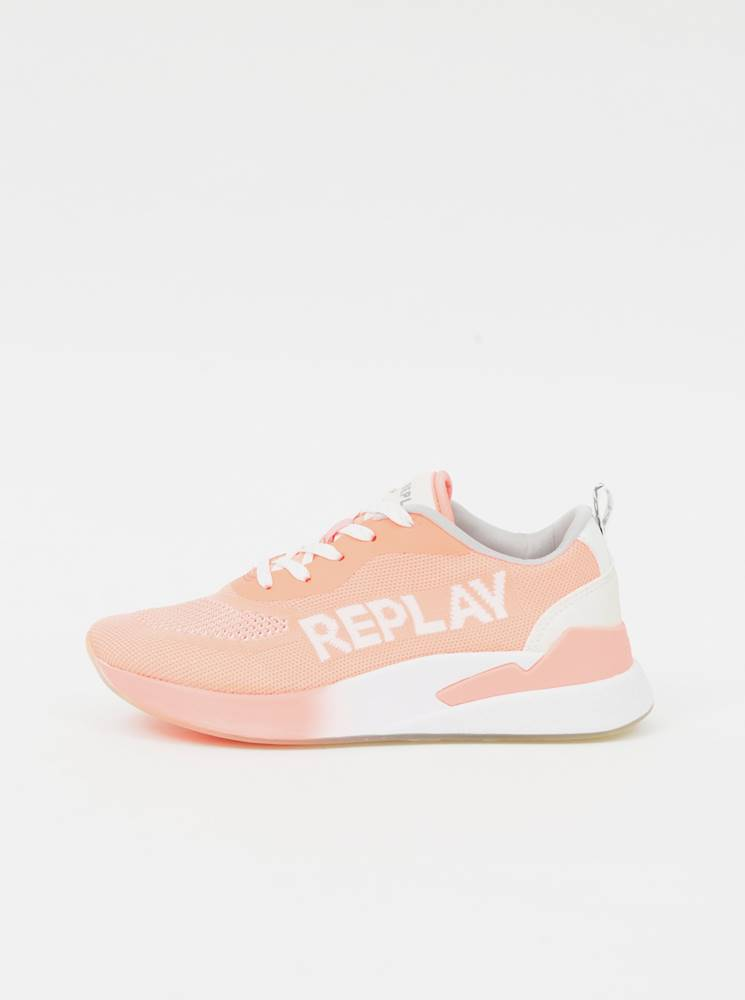 Replay Tenisky pre ženy Replay - ružová