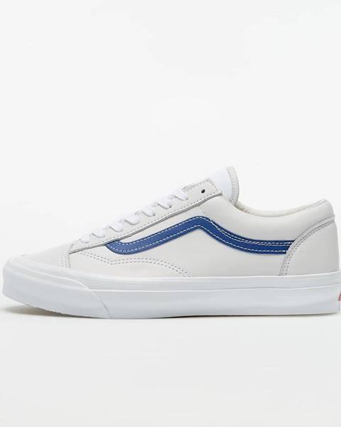 Biele tenisky Vans Vault
