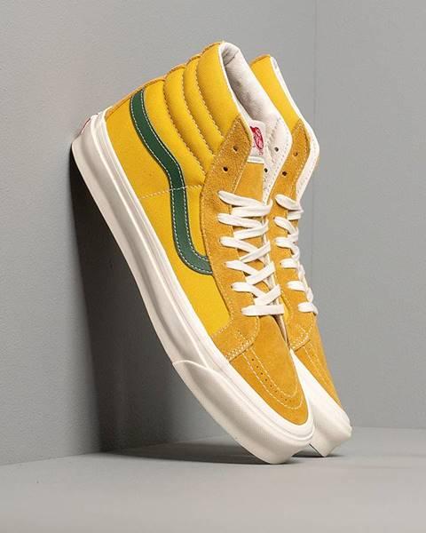 Žlté tenisky Vans Vault