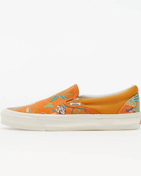 Oranžové tenisky Vans Vault