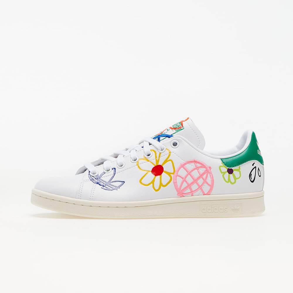 adidas Originals adidas Stan Smith W Ftw White/ Green/ Core White