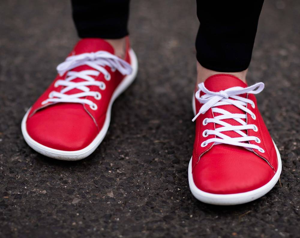 Be Lenka Barefoot tenisky Prime - Red 36