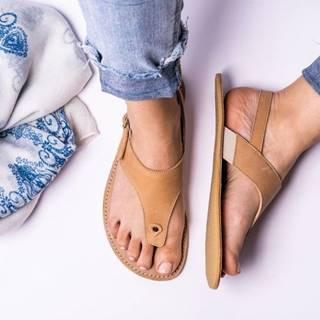 Barefoot sandále Promenade - Sand 36