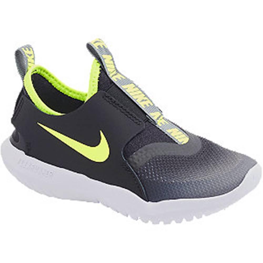 Nike Čierno-sivé slip-on tenisky Nike Flex Runner