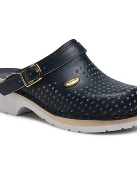 Tmavomodré topánky Scholl