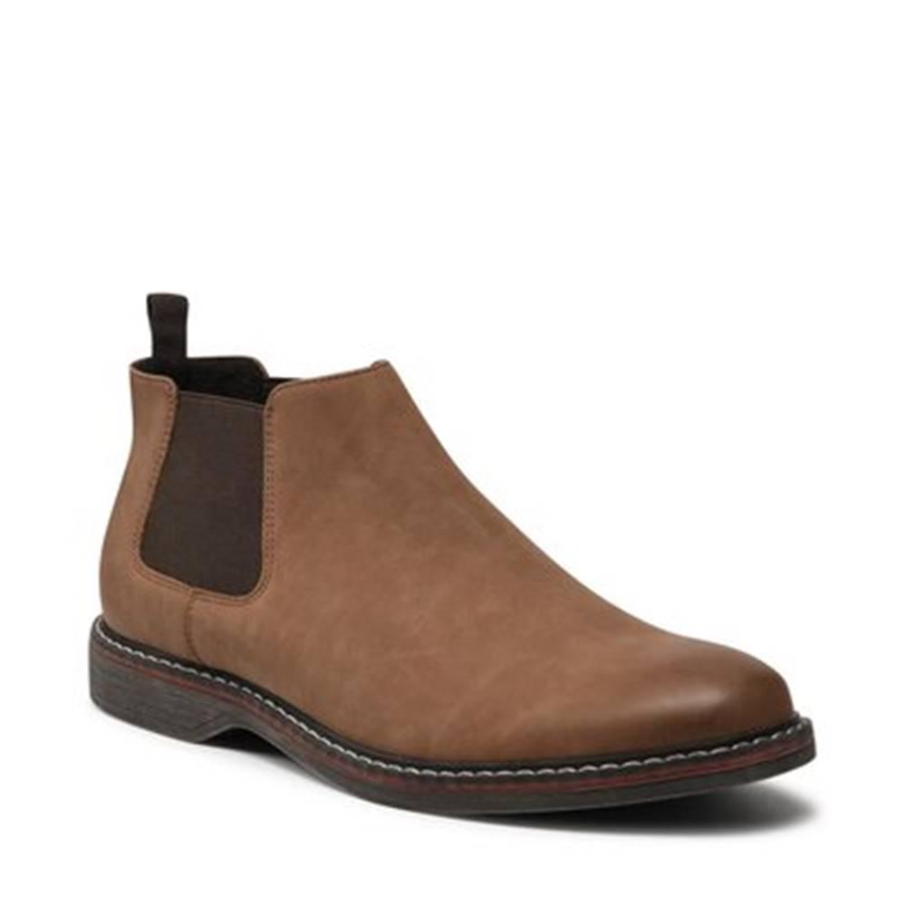 Ottimo Členkové topánky  MYL8377-2 Imitácia kože/-Imitácia kože