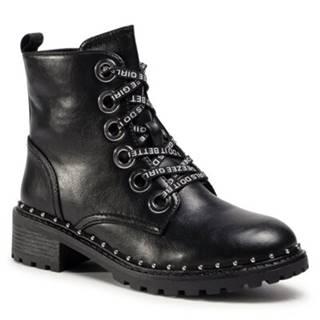 Šnurovacia obuv  WS2971-04 Imitácia kože/-Imitácia kože