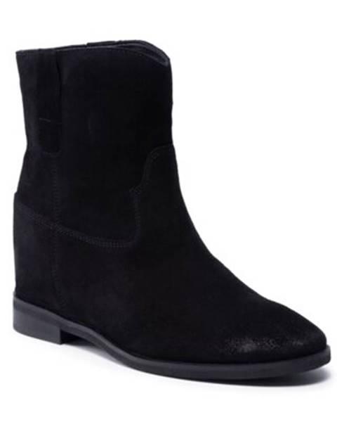Čierne čižmy Badura