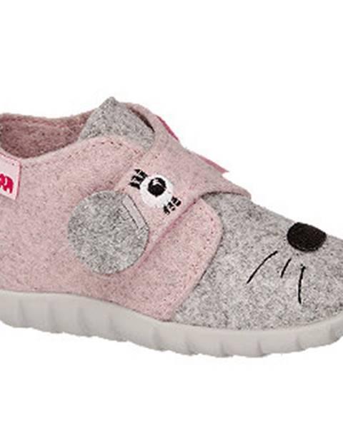 Sivé papuče Elefanten