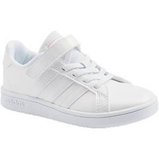 Biele tenisky Adidas Grand Court C