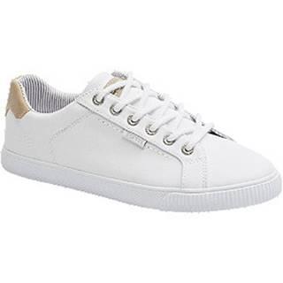 Biele plátenné tenisky