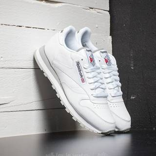 Classic Leather White/Light Grey