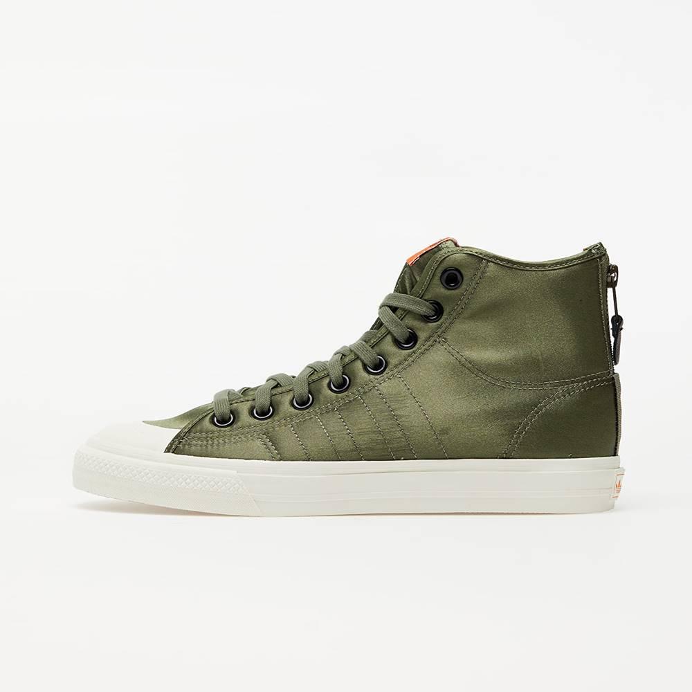 adidas Originals adidas Nizza Hi RF Legend Green/ Orange/ Off White