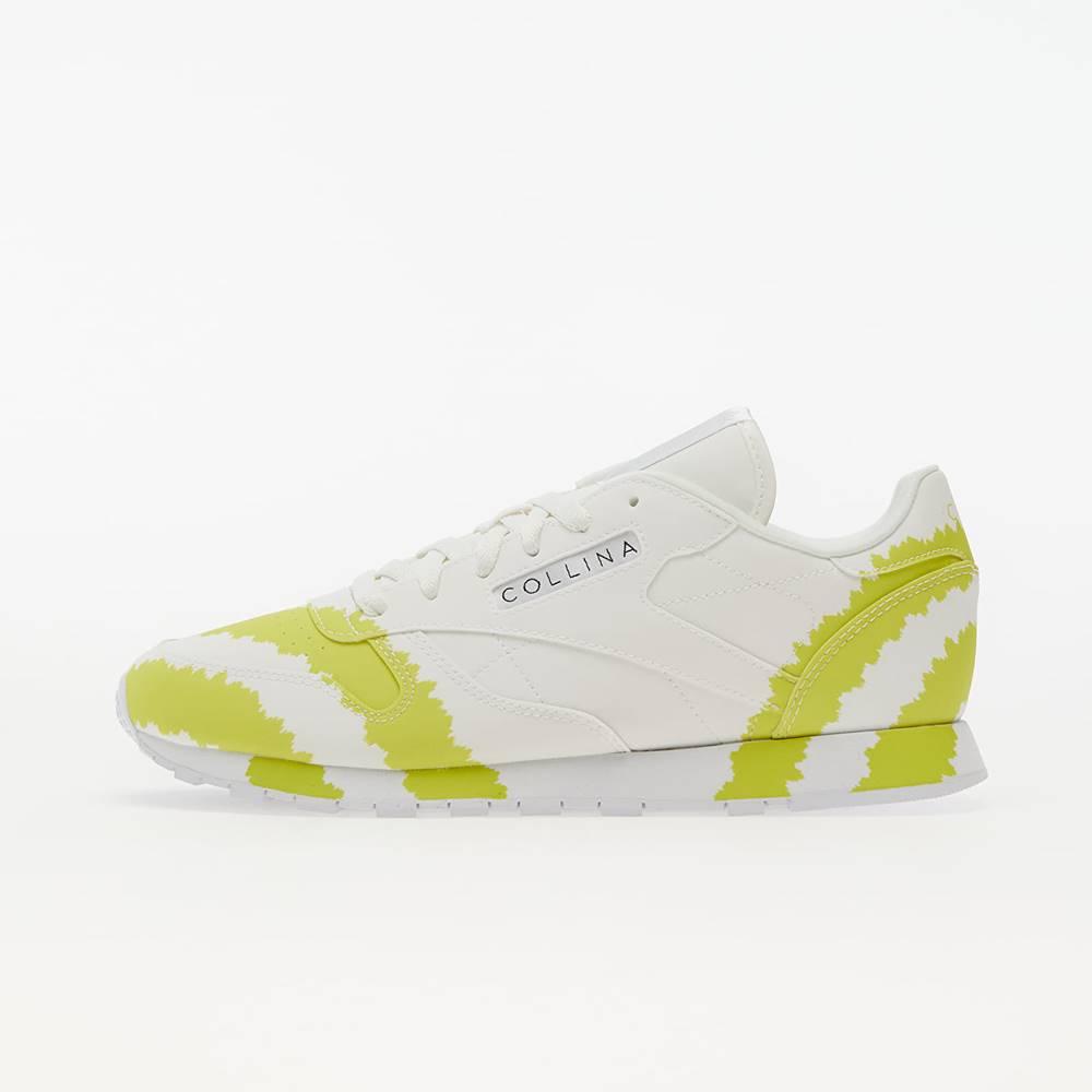 Reebok x Collina Strada Classic Leather Ftw White/ Digital Blue/ Active Yellow