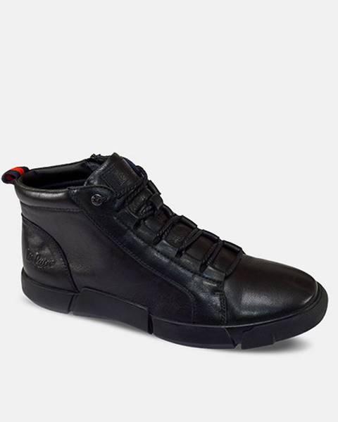 Čierne topánky lee cooper
