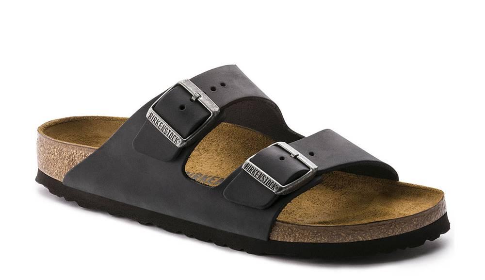 Birkenstock Topánky  Arizona NU Oiled Black Regular Fit