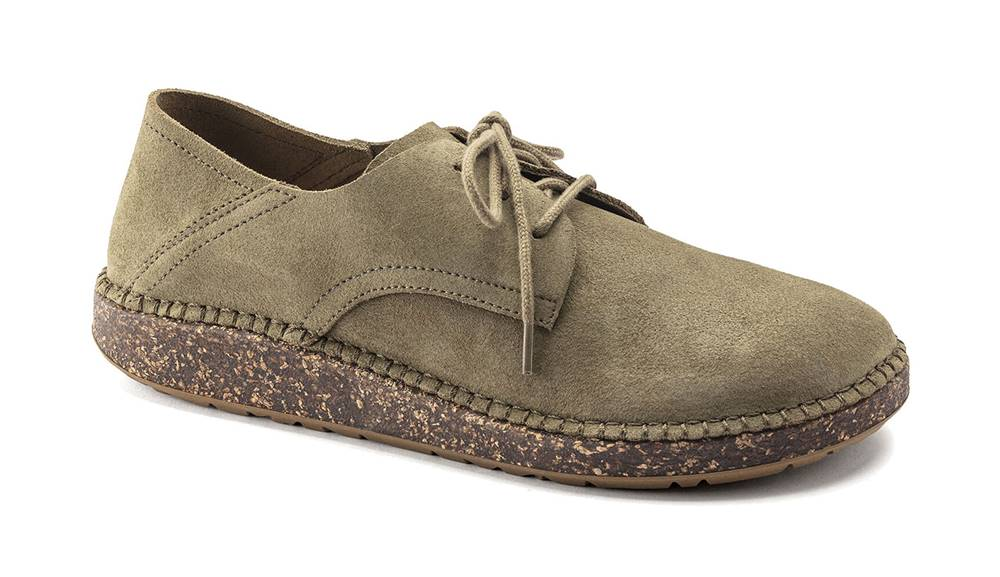 Birkenstock Topánky  Gary Suede VL Faded Khaki Regular Fit