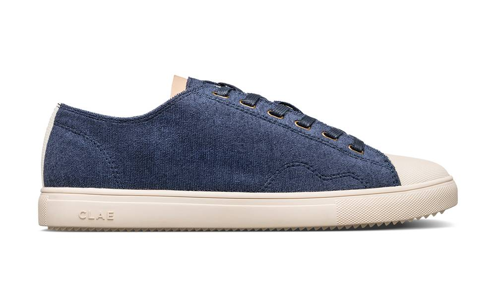 Clae Topánky  HERBIE TEXTILE NAVY RECYCLED TERRY