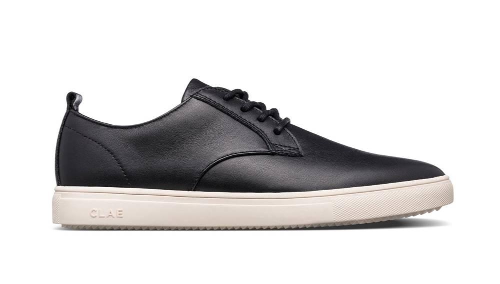 Clae Topánky  Ellington SP Black Milled Leather