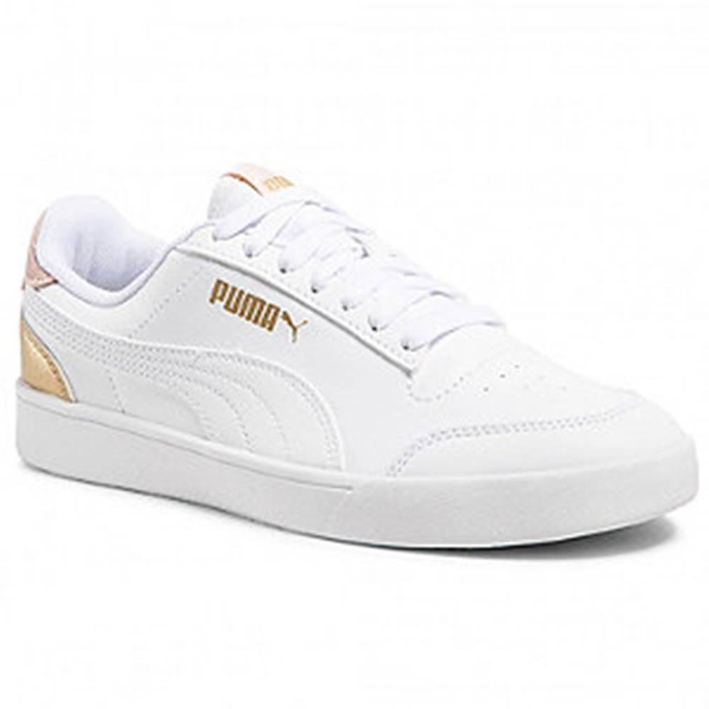 Puma Biele tenisky  Shuffle